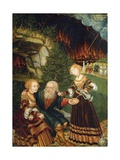 Lot and His Daughters, 1528 Giclee Print by Wolfgang Krodel