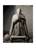 Pius VI Praying, 1817 Giclee Print by Antonio Canova