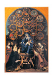 Madonna of the Rosary Giclee Print by Lorenzo Lotto