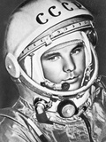 The Cosmonaut Yuri Gagarin Photographic Print
