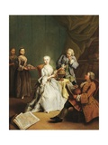 Geography Lesson, 1752 Giclee Print by Pietro Longhi