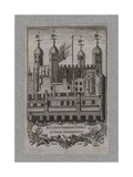 Book Plate, Tower of London Giclee Print
