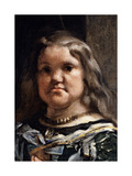 The Family of Philip IV Giclee Print by Diego Rodriguez de Silva y Velazquez