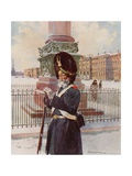 One of the Palace Grenadiers Giclee Print by Frederic De Haenen
