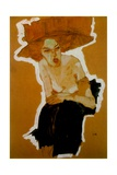 The Scornful Woman, 1910 Giclee Print by Egon Schiele