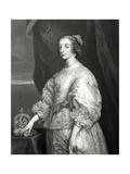 Queen Henrietta Maria, 1851 Giclee Print by Sir Anthony van Dyck