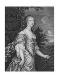 Frances, Duchess of Richmond Giclee Print by Sir Peter Lely