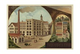 Suchard Chocolate Factory Giclee Print
