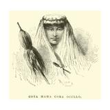 Coya Mama Cora Occllo Giclee Print by Édouard Riou