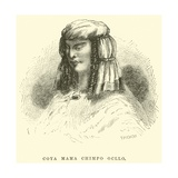 Coya Mama Chimpo Ocllo Giclee Print by Édouard Riou