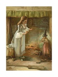 Cinderella Giclee Print by John Lawson
