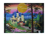 Castle, Germany Giclee Print by Herbert Hofer
