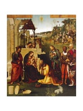 Adoration of Magi Giclee Print by Amico Aspertini