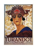 Poster for Turandot, Opera Giclee Print by Giacomo Puccini