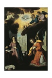 Annunciation, 1638 Giclee Print by Francisco de Zurbaran