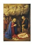 Adoration of Shepherds Giclee Print by  Giovanni Battista Salvi da Sassoferrato