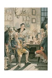 Friedrich Wilhelm I Giclee Print by Carl Rohling