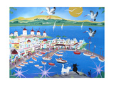 Mykonos, Greece, 2012 Giclee Print by Herbert Hofer
