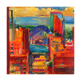 Sydney Harbour Bridge, 2012 Giclee Print by Peter Graham