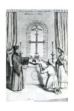 The Shrine of Saint Thomas at Meliapore, 1667 Giclee Print by Athanasius Kircher