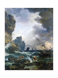 Storm, 1777 Giclee Print by Claude Joseph Vernet