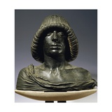 Bust of Young Man Giclee Print by Andrea Riccio