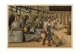Cocoa Processing Plant Giclee Print