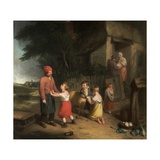 The Sale of the Pet Lamb, 1813 Giclee Print by William Collins