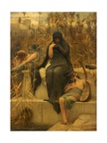 By the Waters of Babylon Giclee Print by Arthur Hacker