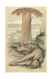 Allegory of Idleness Giclee Print by Frederic James Shields