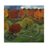 Richmond Park, 2013 Giclee Print by Lisa Graa Jensen