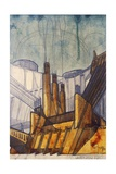 Power Plant, 1914 Giclee Print by Antonio Sant'Elia
