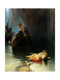 Legend of Sirens Giclee Print by Edoardo Dalbono