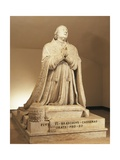 Marble Statue of Pius VI Giclee Print by Antonio Canova