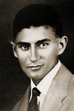 Portrait of Franz Kafka Photographic Print