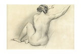 Seated Nude Giclee Print by William Edward Frost