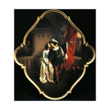 Romeo and Juliet, 1850-1874 Giclee Print by Angelo Inganni