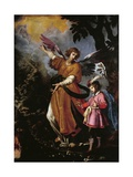 Guardian Angel Giclee Print by Giovanni Bilivert