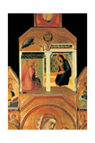 Polyptych Giclée-tryk af Pietro Lorenzetti