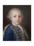 Portrait of Young Boy Giclee Print by Rosalba Carriera