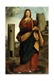 St. Barbara Giclee Print by Giovanni Antonio Boltraffio