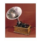 Phonograph Giclee Print by Thomas Alva Edison