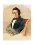Frederic Chopin Giclee Print by Maria Wodzinska
