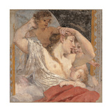 The Charity Giclee Print by Lodovico Carracci