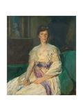 Mrs Julian Lousada, C.1920 Giclee Print by Ambrose Mcevoy