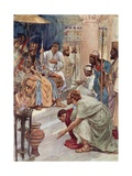 Themistocles at the Persian Court Giclee Print by William Rainey