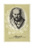 Alexander Ostrovsky, Russian Playwright Giclee Print by Vasili Grigorevich Perov