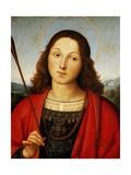 St Sebastian, Circa 1501-1502 Reproduction procédé giclée par  Raphael