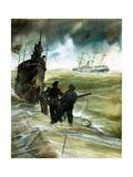 WW1 U-Boat Giclee Print by Neville Dear