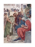 Aristides and the Citizen Giclee Print by William Rainey